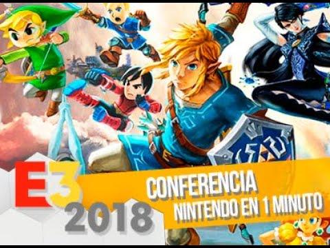 La conferencia de Nintendo en 1 minuto/ E3 2018