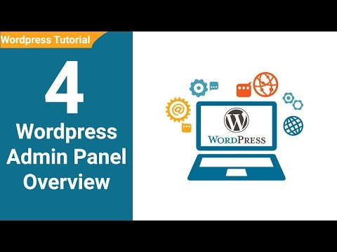 04  Wordpress Admin Panel Overview Wordpress Tutorial for beginners in Urdu / Hindi Youtube thumbnail