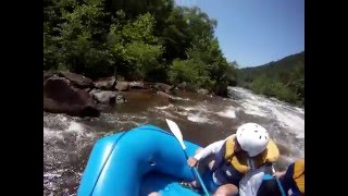 7/2/2011 Ocoee Combo Whitewater Rafting with Wildwater: GoPro HD