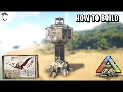 Bird Cage Flyer Storage How To Build Ark Survival Evolved Youtube