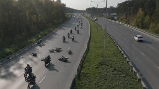 Авария ДТП на закрытии мото сезона Екатеринбург 2020 полная версия