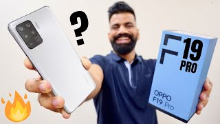 OPPO F19 Pro Unboxing & First Look | AI Color Portrait Video | AMOLED | 30W VOOC 4.0🔥🔥🔥