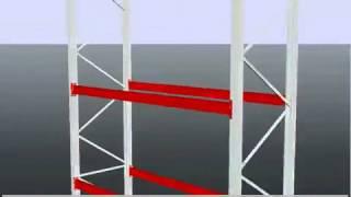 Паллетный стеллаж 3D модель Стелос(Паллетный стеллаж, как он есть, в 3D Офисные, складские, архивные стеллажи в наличии и на заказ. (495) 665-00-35 Моск..., 2012-08-16T12:47:59.000Z)