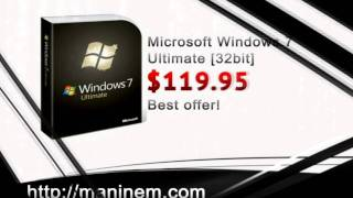 Buy Cheap Microsoft Windows 7 Ultimate [32 Bit]
