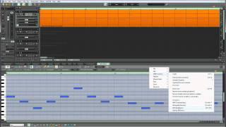 Samplitude Pro X: MIDI - Melody Inversion