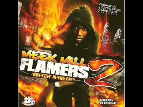 Meek Mill - Trappin All Day Ft. Gillie Da Kid (Full Version) Flamers 2