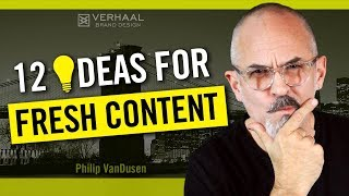 12 Great Content Ideas - How To Develop Great Content That Will Attract New Business