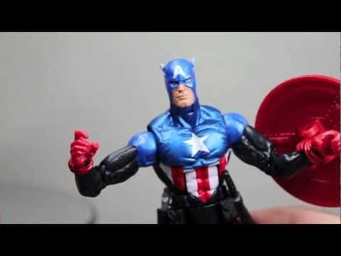 Marvel Legends Bucky Captain America Arnim Zola Wave Figure Review with ShartimusPrime!