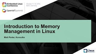 Introduction to Memory Management in Linux