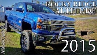 Rocky Ridge Altitude Edition Z71 CHEVROLET SILVERADO 1500 CREW CAB  LT W/1LT 13225