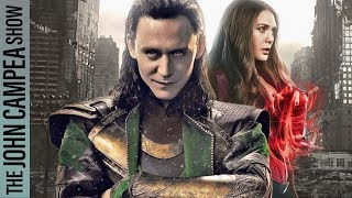 Live Action Loki And Scarlet Witch Series Coming To Disney Streaming Service - The John Campea Show