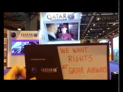 Qatar Airways We Want Rights Boarding Card Youtube