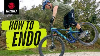 How to Endo On A Mountain Bike | MTB Skills