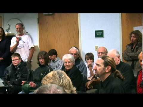 Ron Crenshaw's critique of CHS Percussion ensemble...