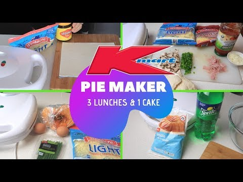 KMART PIE MAKER HACKS   QUICK AND EASY PIE MAKER RECIPES   Lunchbox Ideas For Adults And Kids