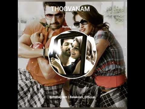 Thoovanam BGM | Romeo Juliet | Jayem Ravi | Hanshika | Instagram | Balakrish_Official |Balakrish BGM