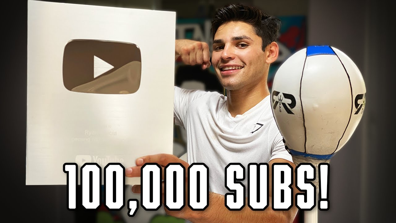 Unboxing My Silver Play Button | Ryan Garcia Vlogs