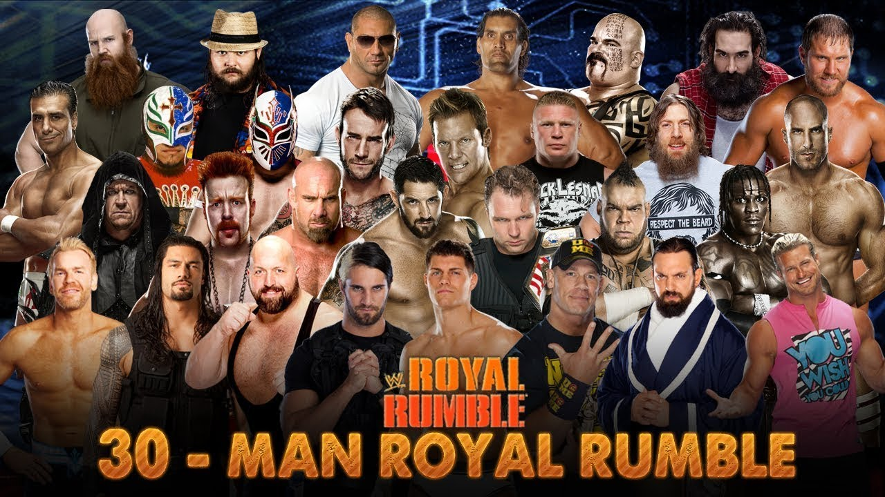 WWE Royal Rumble 2014 Full HD Highlights I Batista Final Winner I Roman Reigns eliminated by Batista