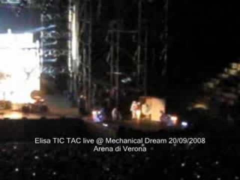 Elisa TIC TAC Live@Mechanical Dream 20/09/2008