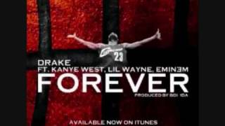 Forever (Instrumental) - Drake ft. Lil Wayne, Kanye West, And Eminem