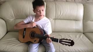 Как играть на гитаре Испанский танец. Самый легкий урок!