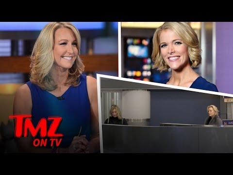 Megyn Kelly and Lara Spencer Have An Awkward RunIn  TMZ TV