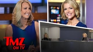 Repeat youtube video Megyn Kelly and Lara Spencer Have An Awkward Run-In | TMZ TV