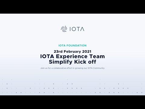 2021-02-23 IOTA Experience