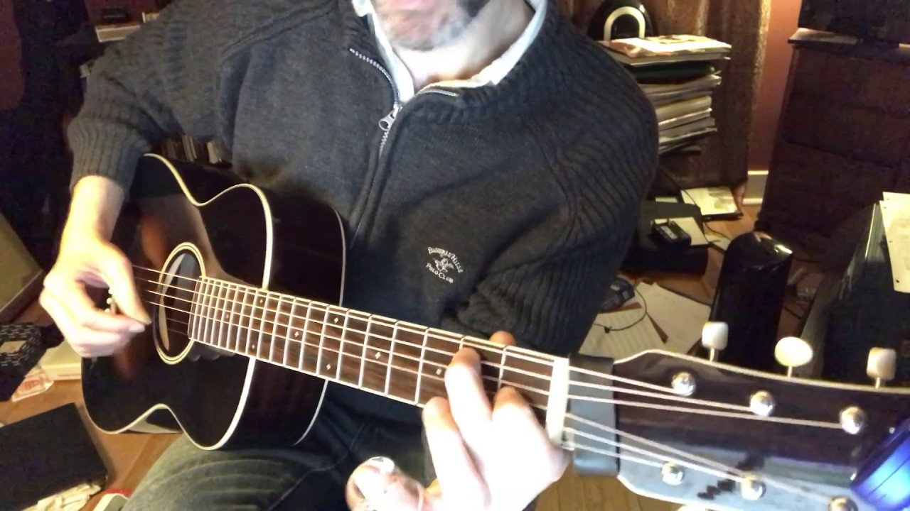 how to play amazing grace on slide guitar lesson in open d tuning youtube. Black Bedroom Furniture Sets. Home Design Ideas