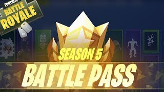 CONTEST ETION 2 PASS BATTLE SEASON 5 FORTNITE!!!