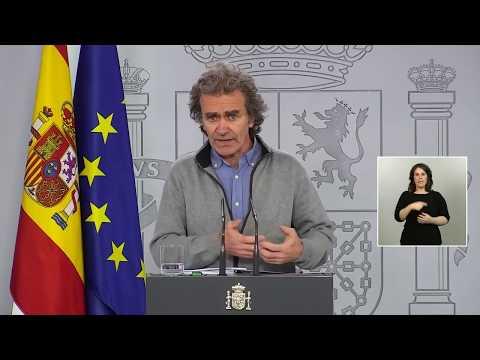 Fernando Simón comunica este martes 12 de mayo los fallecidos en las últimas 24 horas