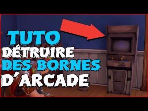 Fortnite : SAUVER LE MONDE / ASTUCE POUR DÉTRUIRE 6 BORNES D'ARCADE