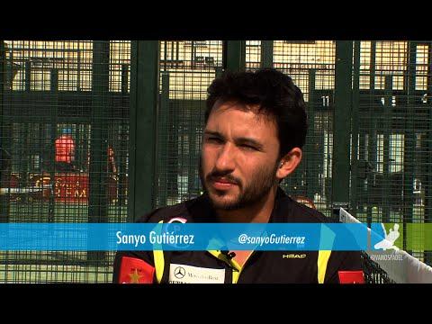 Sanyo Gutiérrez. El golpe que le han hecho subir en el ranking