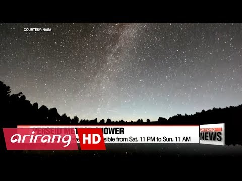 2017 Perseid meteor shower to peak this weekend in Korea