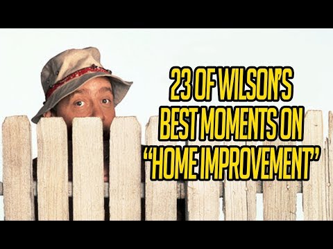 """23 Of Wilson's Best Moments On """"Home Improvement"""""""