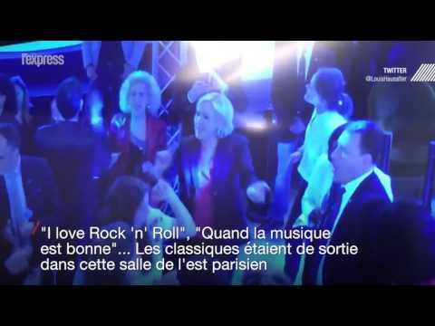 Malgré sa défaite, Marine Le Pen a le coeur à la fête