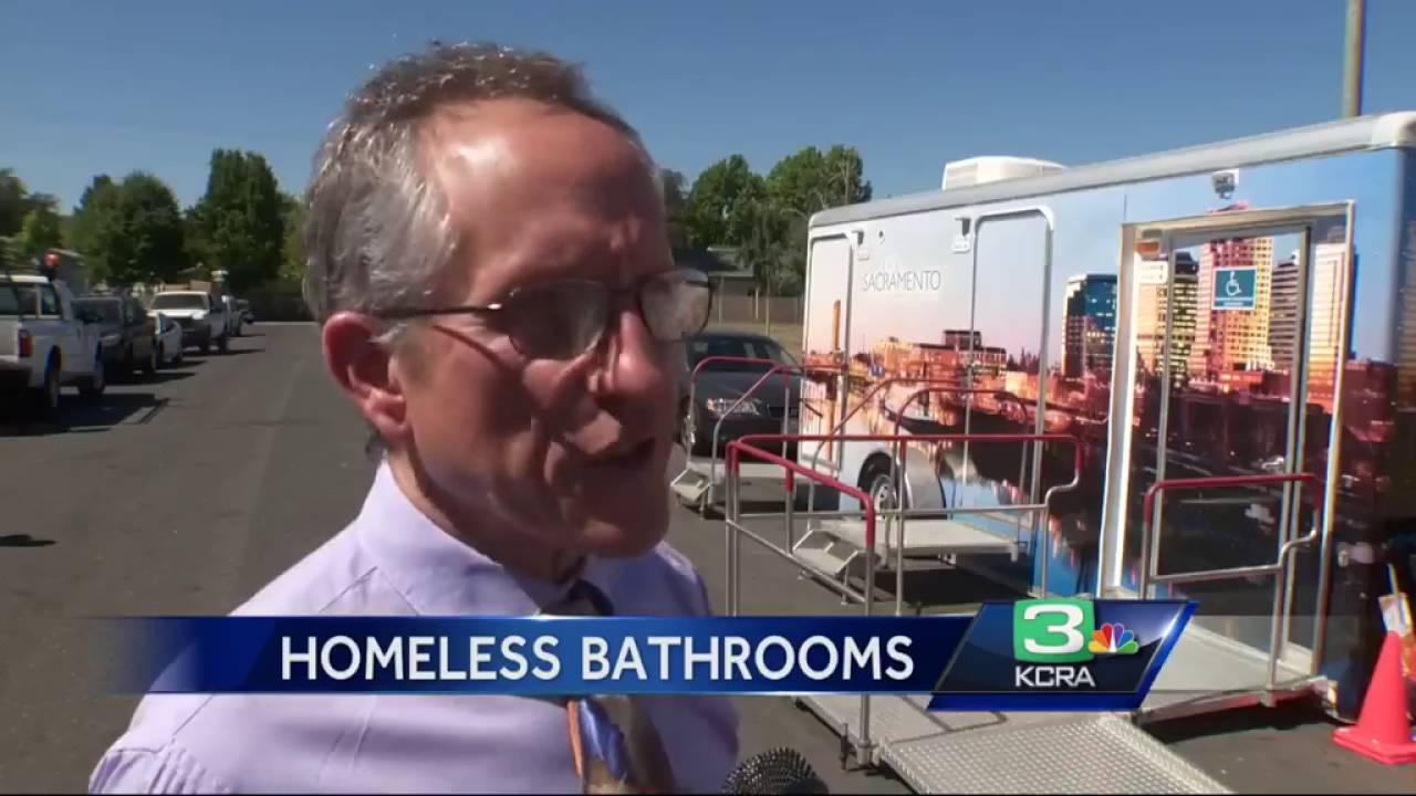 Sacramento Opens First Pit Stop Public Bathroom Youtube