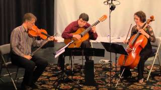 Niccolo Paganini: Terzetto Concertante for viola, cello, and guitar