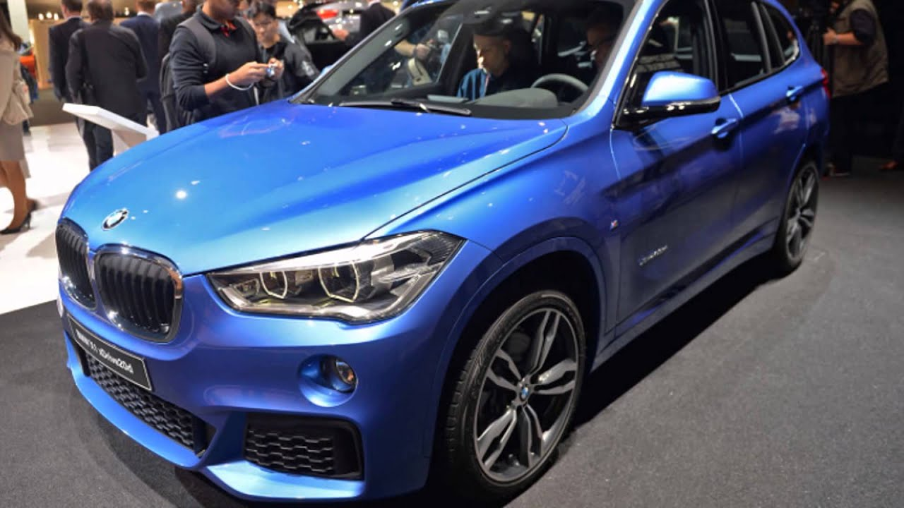2016 Bmw X1 Mediterranean Blue Metallic Youtube