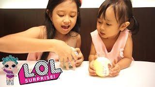 Wow... Dapat Ultra Rare Gold Ball 💖 LOL Surprise Series 2 + Series 3 LIL SISTERS Jessica Jenica