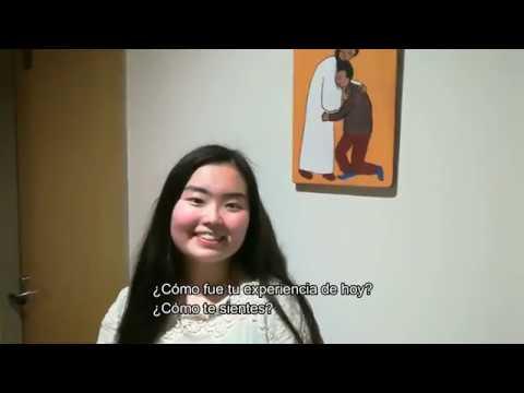 El bautismo de NANAMI - Iglesia católica en Japón