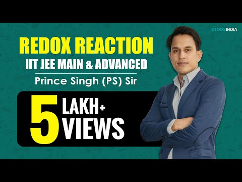 Redox Reaction of Chemistry by Prince (PS) Sir (ETOOSINDIA.COM)