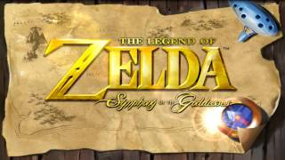 The Legend of Zelda: Symphony of the Goddesses | Dungeons Medley | High Quality |