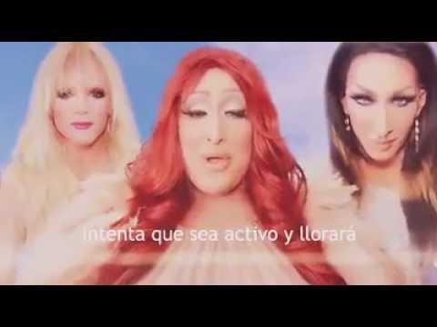 Boy Is A Bottom - Willam, Detox & Vicky Vox (Subtitulos en español)