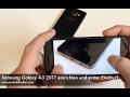 Samsung Galaxy A3 2017 einrichten und erster Eindruck