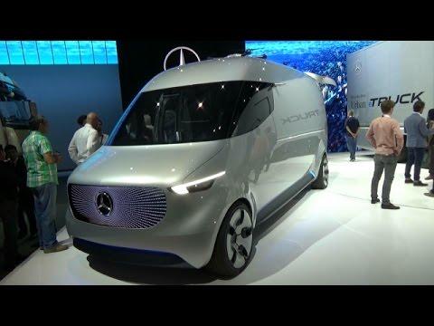 Concept Mercedes-Benz Vision Van - Exterior and Interior - IAA ...