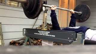 Bench Press With Sawhorse