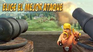 Ataque COC: Elige el mejor ataque en guerra|Estrategia| |Clash of Clans Español|