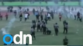One killed, dozens injured in Indonesian football riot