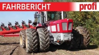 """Schlüter"" Profi Gigant mit Grégoire-Besson-Pflug | profi #Fahrbericht"